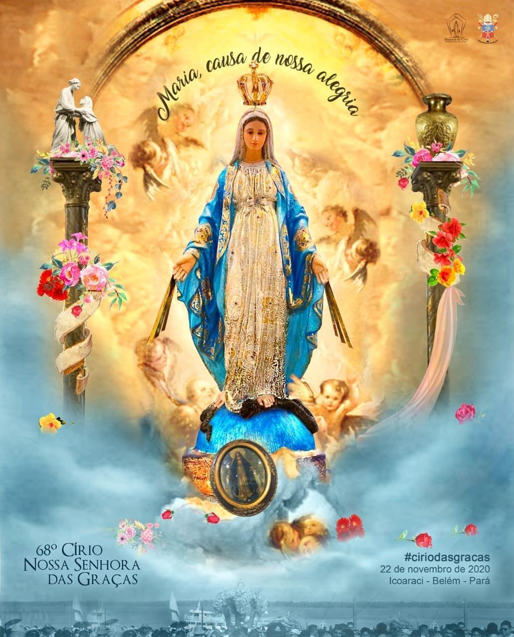 Veja como será o Círio de Nossa Senhora das Graças deste ano em Icoaraci