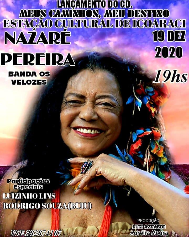 Lançamento do CD de Nazaré Pereira